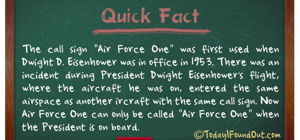 TIFO Quick Fact - Air Force One Fact