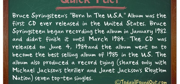 TIFO Quick Fact- First Music CD Fact