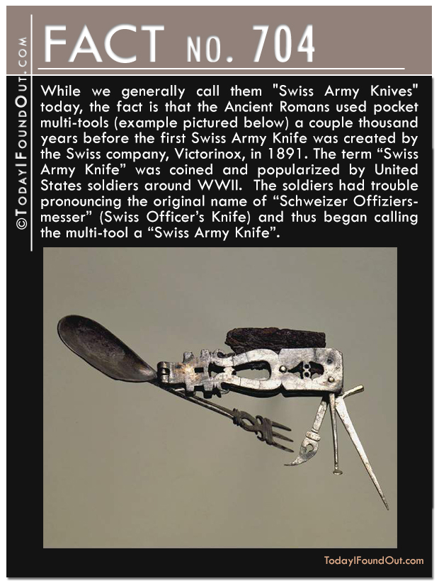 The Roman Swiss Army Knife