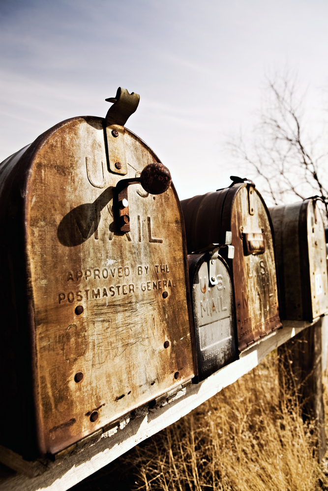 Mailboxes And The Postmaster General