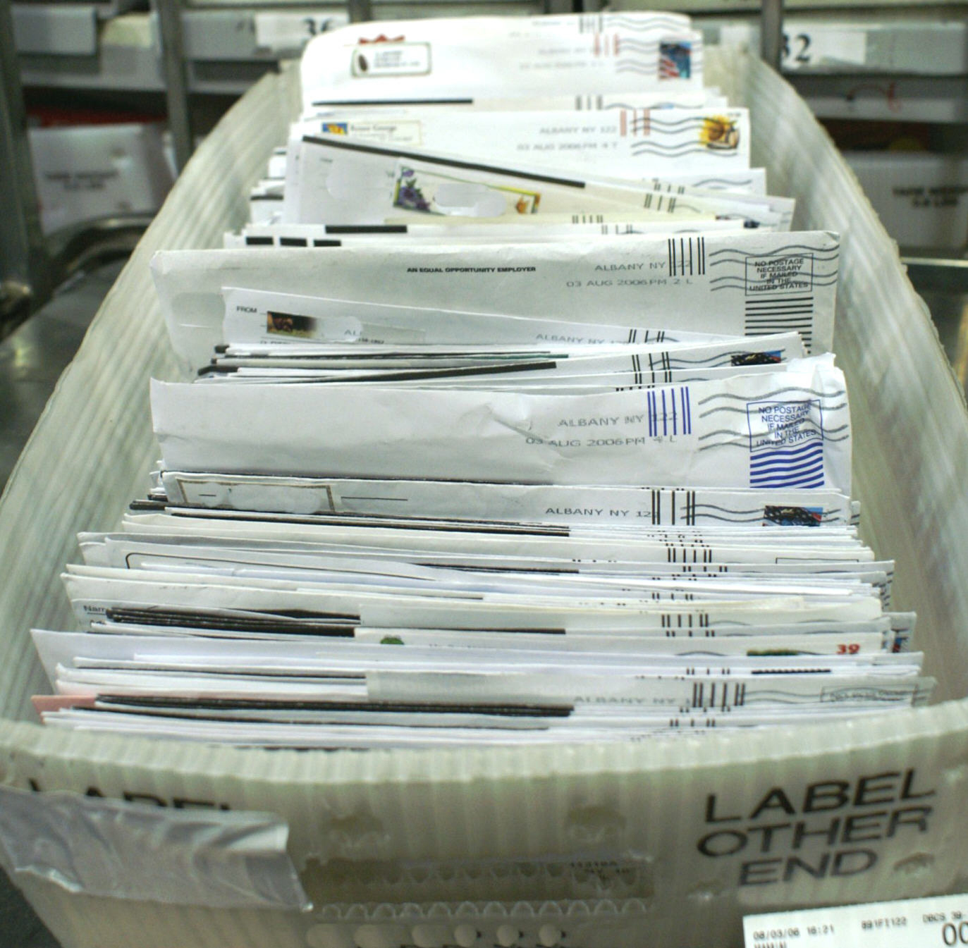 What Happens to Undeliverable Mail with No Return Address