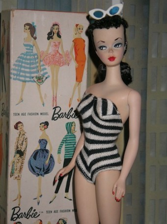 The First Barbie, Sold in Blonde and Brunette
