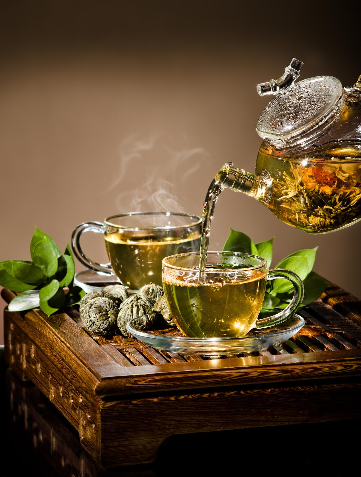 права картинки зеленого чая в чайнике государственный
