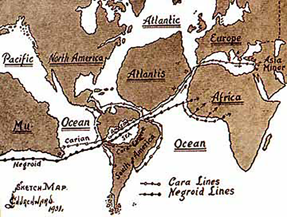 The Lost Continent That Never Existed: Mu