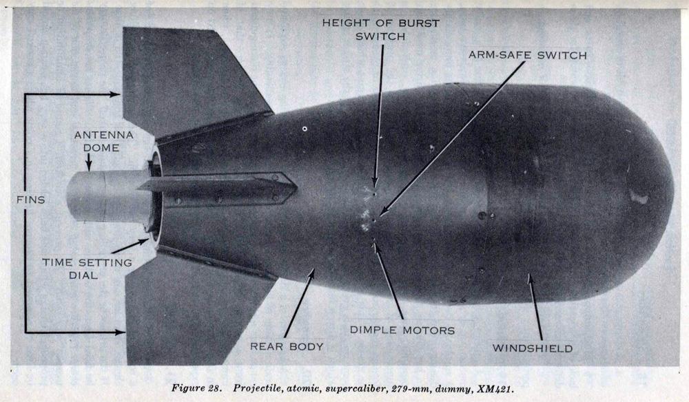 Essas ogivas iniciais foram usadas para armar o lançador sem recuo Davy Crockett e o míssil ar-ar Falcon.