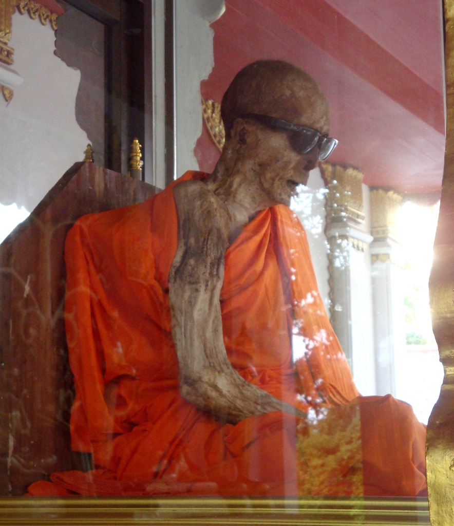 The Curious Case of the Ray-Ban Wearing Monk of Koh Samui