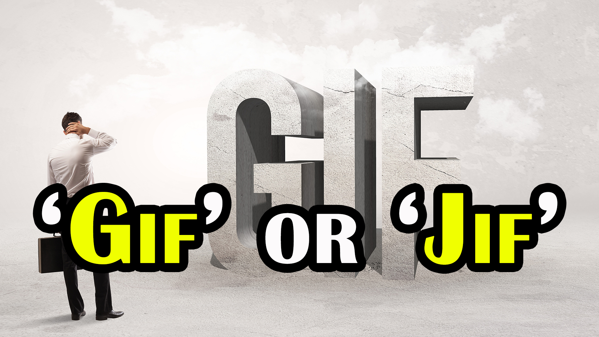 """Is it pronounced """"Jif"""" or """"Gif""""? - today i found out"""